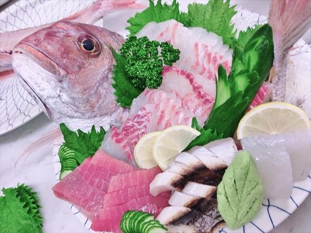 一年中とれたての新鮮なお魚をお楽しみ下さい